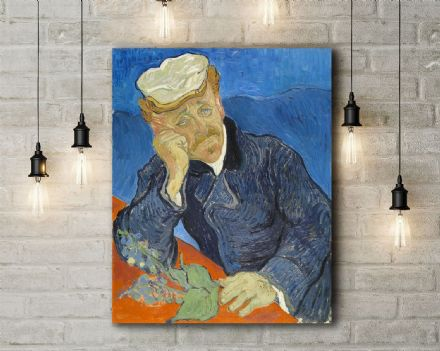 Vincent van Gogh: Dr Paul Gachet. Fine Art Canvas.